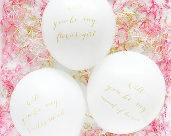 Will You Be My? Balloons - 12 inch - Single Balloon