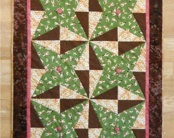DOG STAR Quilt Wall Hanging