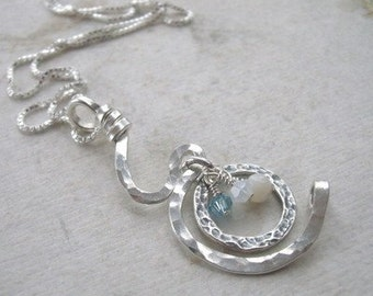 Pregnancy Curves Necklace Sterling Silver
