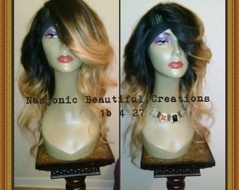 Simply the Best..U-Part Wig 1b/27 Brazilian Body Wave