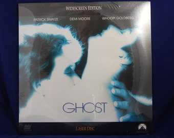 Vintage Laserdisc Ghost with Patrick Swayze and Demi Moore 1991 Factory Sealed