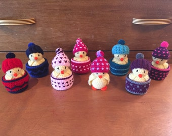 Crochet Easter Chicks --- Crochet Pattern Only