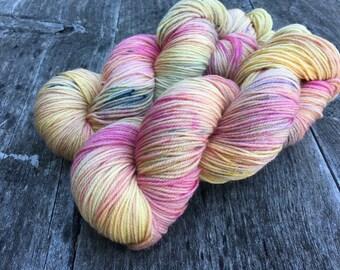 Hand dyed yarn Dandy sock -'Stillness'