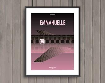 EMMANUELLE, affiche (re)visitée