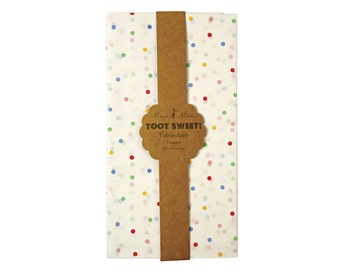 Toot Sweet Spotty Tablecloth, Party Supplies, Tableware
