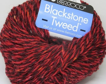 New Berroco Blackstone Tweed Wool Blend Yarn/1 Ball/Flannel/ 2681
