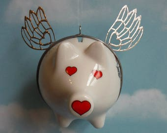 Flying Pig Arkansas Keepsake