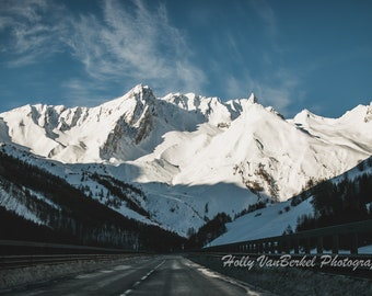 Alps Road Trip, Travel Photography - DIGITAL Downloadable File