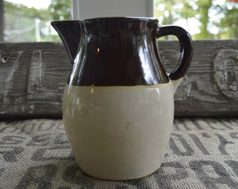 Vintage Robinson Ransbottom Pottery Cream Pitcher