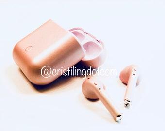 Custom Painted Apple Earbuds