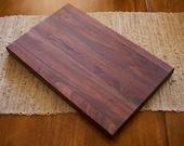 Walnut Cutting Board    Butcher Block Cutting Board    Walnut Bread Board