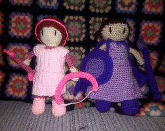 Cancer Warrior Doll: All Proceeds Donated to Charity, custom crochet, amigurumi,