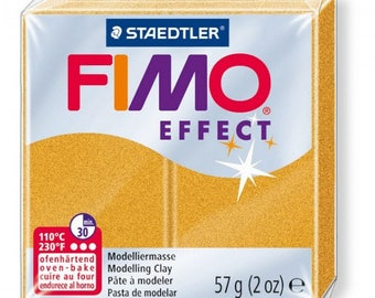Metallic gold 11 57gr EFFECT polymer clay