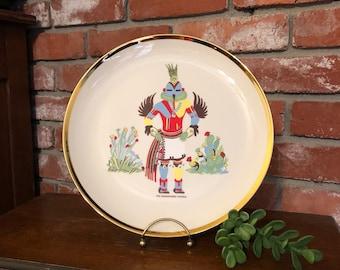 Hummingbird Kachina Plate-Serial Number 3255
