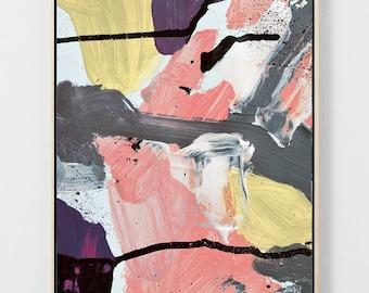 "Printable Abstract Art, Modern Art Print, Modern Minimalist, Modern Art, Minimalist Art, Modern Home Art, 16x20"" Yellow, Peach"