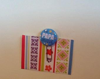 Very pretty paperclip bookmark unique dad