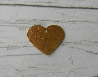 14K Gold Filled Heart Charm