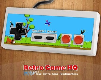NES - Duck Hunt - Controller Overlay (Controller Not Included)