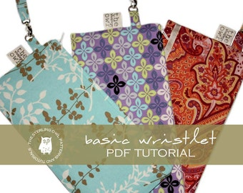 Basic Wristlet - PDF Tutorial
