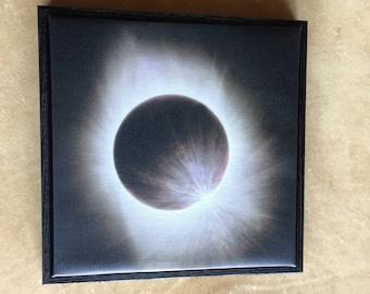 "Eclipse 2017 - the ""diamond ring"""