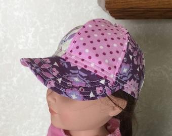 """Cute 18"""" AG / Doll ball Cap / Hat"""