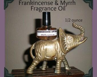 FRANKINCENSE & MYRRH Fragrance Body Oil 1/2 ounce (oz)