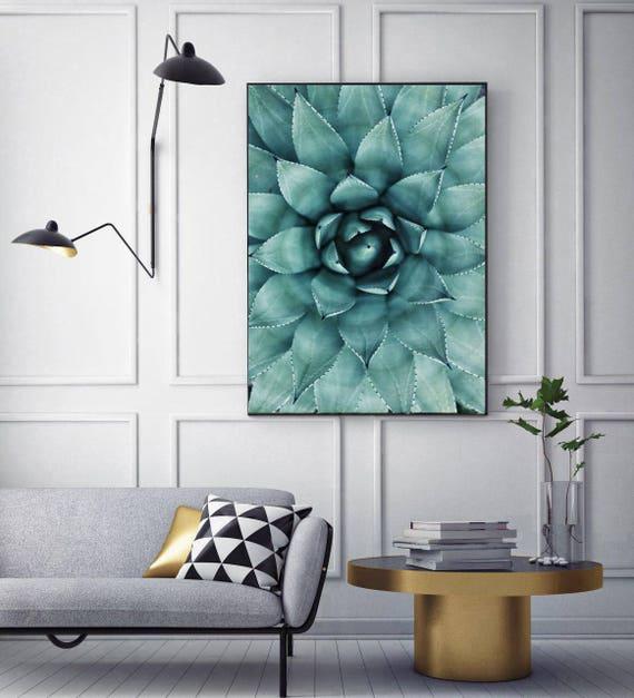 50 Off Cactus Succulent Print Wall Art Modern Poster Modern