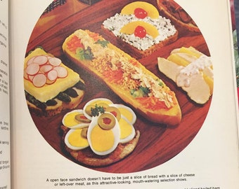Family Circle  SOUPS and SANDWICHES Cookbook from 1978