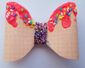Ice Cream and sprinkles 3D hairbows