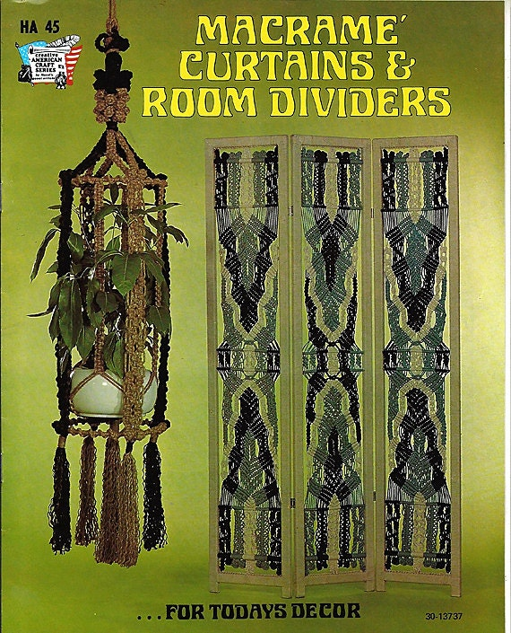 Macrame Curtains & Room Dividers For Todays Decor Macrame