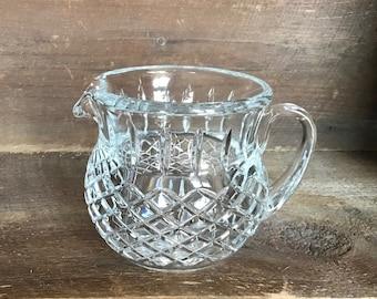 Lead Crystal pitcher 24% Diamond cut