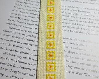 Bookmark  Yellow Squares