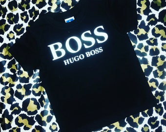 Hugo Boss Inspired Childrens Tshirt