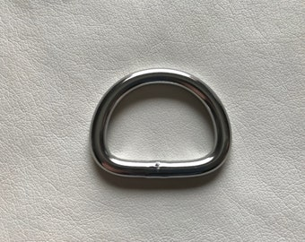 "1"" Stainless Steel Dee Ring"