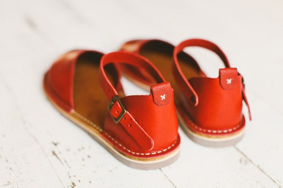 Handmade Shoes Red Shoes Leather Sandals In Women Red Sandals Women Sandals Sandals Summer Leather Color rZwrtPq