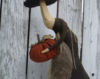 "Primitive Witch Doll ""Gertie"""