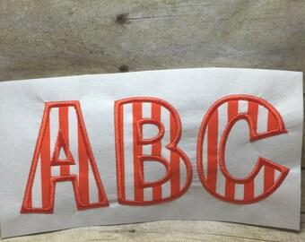 Appliqued Font Embroidery Design, Embroidery Font Applique, Cheri Applique Font