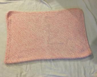 Simple Ridges Baby Blanket
