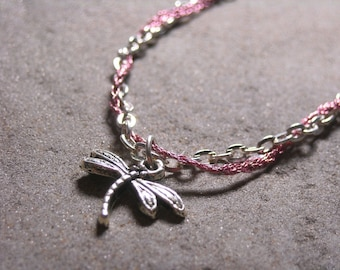 Sansa Stark Dragonfly Game of Thrones inspired Necklace