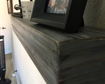 Floating Shelf, Floating Shelves, Fire Place Mantle, Mantle, Wood Beam, Book Shelf, Book Case