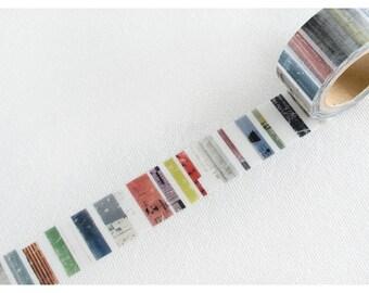 Chamil Garden Washi Tape MTW-CH254 - Fragment