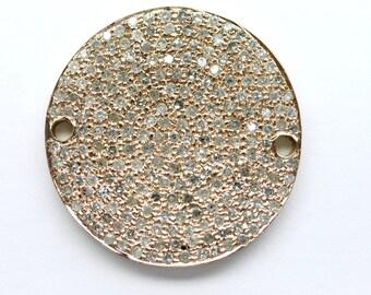 Rose Gold Disc