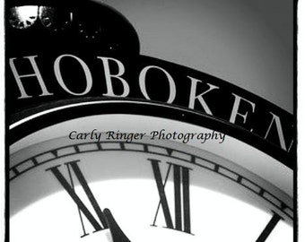 Hoboken - Clock Coaster