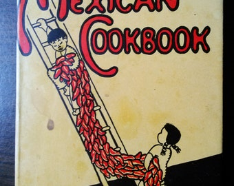 Mexican Cookbook by Erna Fergusson 1945