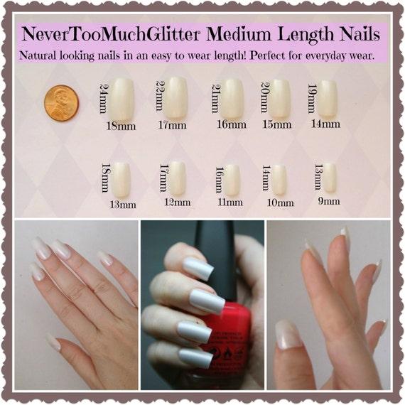 Magical Fairy Nails. Fairy Fake False Nails Mystical Fake