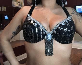 Tribal fusion belly dancer Bra