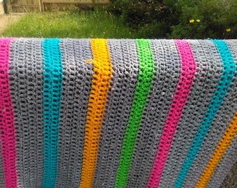 Crocket Striped Blanket