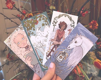 GOLD FOIL Fantomestein Bookmarks