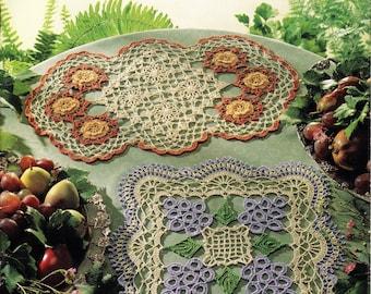 Vintage Doilies Crochet vintage doilies Crochet ebook Doily pattern Pdf file