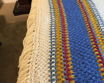 Beautiful hand-made afghan - Price Reduced